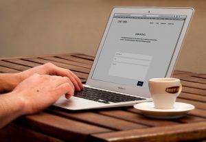 webflow website